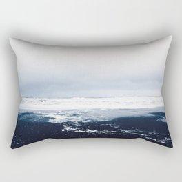 Reynisfjara Black Sand Beach, Vik, Iceland Rectangular Pillow