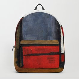 Joaquin Torres Garcia Abstract Forms Backpack