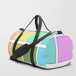 Color Pallet Duffle Bag