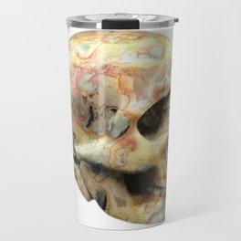 Crazy Lace Skull Travel Mug