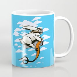 Hare Dryer Flyer Coffee Mug
