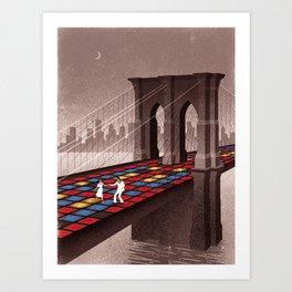 Saturday Night Fever Art Print