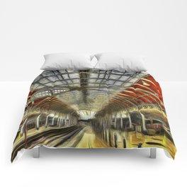 Paddington Station Art Comforters