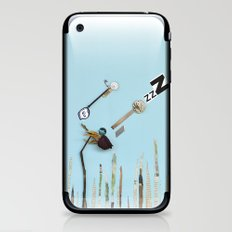 The  rose sleeping iPhone & iPod Skin