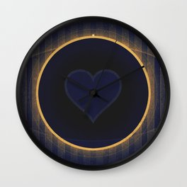 Pluto - The Heart Wall Clock