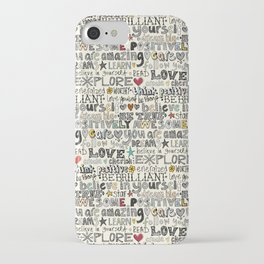 positively awesome iPhone Case