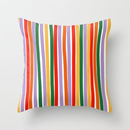 J'y arrive-Getting there- to the sky Throw Pillow