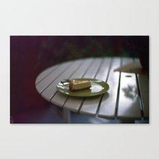 Caramel Cheesecake Canvas Print