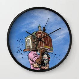 Building Lovers Wall Clock