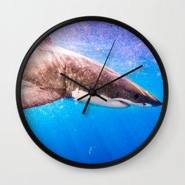 GreatWhiteShark-7 Wall Clock