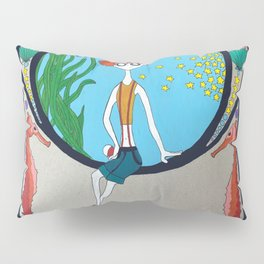 Gaming Mucha - Misty Pillow Sham