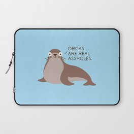 Seal of Reproval Laptop Sleeve