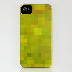 Re-Created Colored Squares No. 38 by Robert S. Lee Slim Case iPhone (4, 4s)