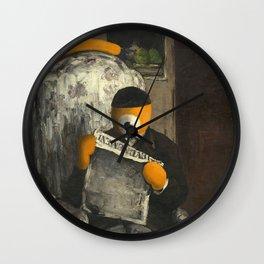 ojo lector Wall Clock
