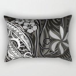 Samoan - Hawaiian - Polynesian Tribal Threads Rectangular Pillow