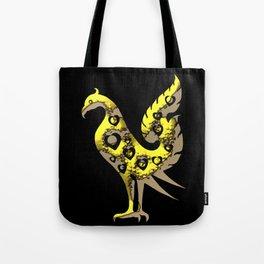 Thai Style Graphic Art of Bird Tote Bag