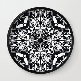 Ethereal Kaleidoscope   Wall Clock