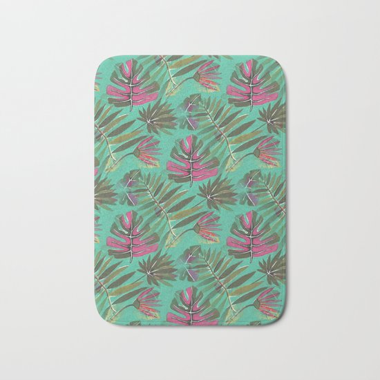 Tropical Beauty Bath Mat