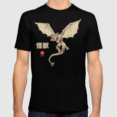 Kaiju Anatomy 2 Mens Fitted Tee Black MEDIUM