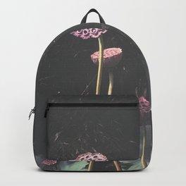 Lotus Seed Heads Backpack