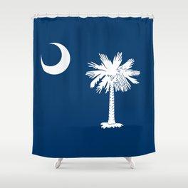 Flag of South Carolina - High Quality image Shower Curtain