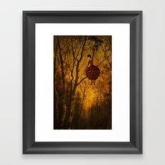 Pine Girl Framed Art Print