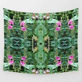 Wild Flower Pattern Wall Tapestry