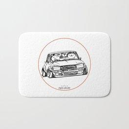 Crazy Car Art 0041 Bath Mat