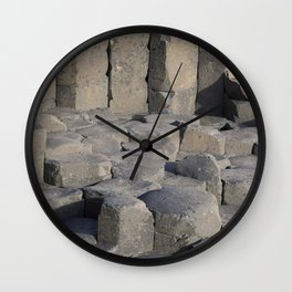 Giants Causeway; County Antrim; Northern Ireland, UK Wall Clock
