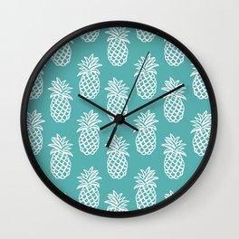 Piñas I Wall Clock