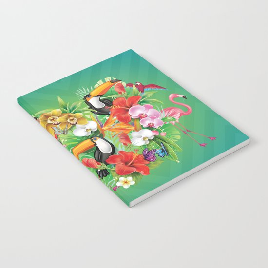 tropical  karnaval Notebook