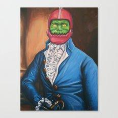 Gentleman In A Blue Coat Canvas Print