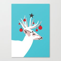 Deer with Cheer Canvas Print
