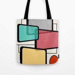 Mid-Century Modern Art Landscape 1.1 Tote Bag