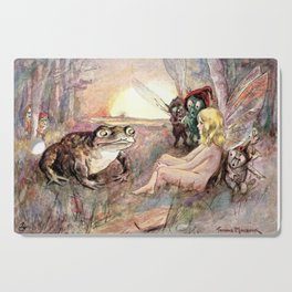 Midsummer Dreams by Thomas Maybank Cutting Board