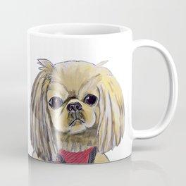 Cartoon dogs Li Li the Pekingese Coffee Mug
