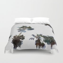 Tropical Palms Duvet Cover