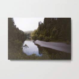 Eel river Metal Print