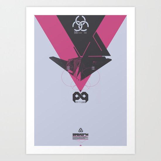 STEALTH:F117 Nighthawk Art Print