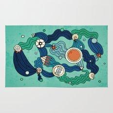 The Aquatic Environment Rug