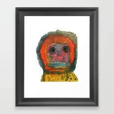 monki Framed Art Print