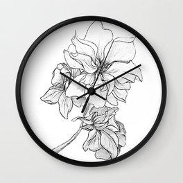 Larkspur Wall Clock