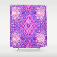 kilim Shower Curtains featuring Kilim 3 by EllaJo Design