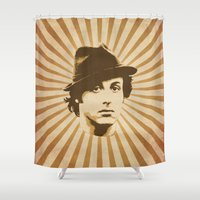 rocky Shower Curtains featuring Rocky by Durro