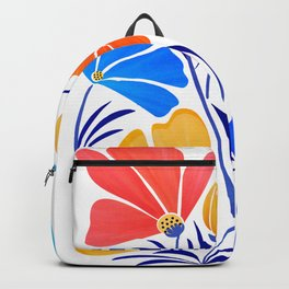 Modern Garden Party / Floral Illustration Backpack