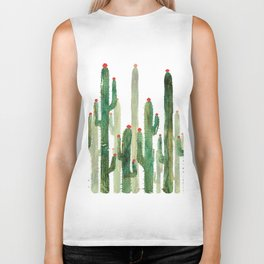 Cactus 3 Biker Tank