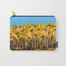 Wisconsin woods Carry-All Pouch