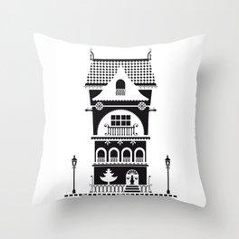 Casitas (01) Throw Pillow