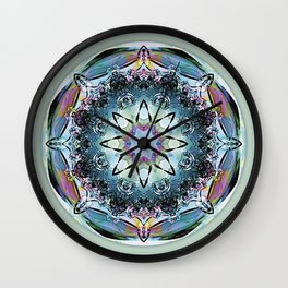 Mandalas from the Heart of Truth 2 Wall Clock