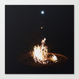 Summer Moon Canvas Print